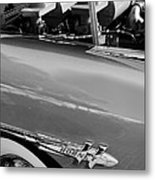 1953 Hudson Hornet Sedan Engine Metal Print