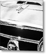 1953 Nash-healey Convertible Grille Emblem Metal Print