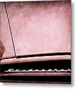 1953 Studebaker Coupe Grille Emblem Metal Print