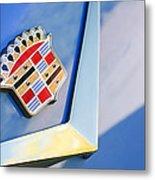 1954 Cadillac Coupe Deville Emblem Metal Print