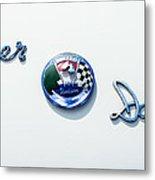 1954 Kaiser-darrin Roadster Emblem Metal Print