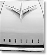 1955 Pontiac Safari Hood Ornament Metal Print