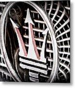 1957 Maserati Grille Emblem Metal Print
