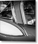 1957 Studebaker Golden Hawk Bw Metal Print
