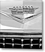 1958 Cadillac Eldorado Biarritz Convertible Emblem Metal Print by Jill Reger