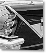 1959 Desoto Adventurer Convertible Tail Light Emblem Metal Print