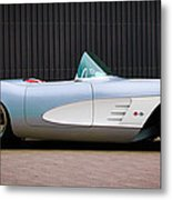 1960 Chevrolet Corvette Metal Print