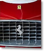 1960 Ferrari 250 Gt Swb Berlinetta Competizione Grille Emblem Metal Print