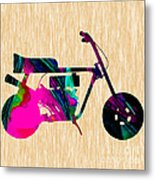 1960s Mini Bike Metal Print