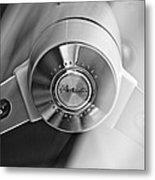 1963 Studebaker Avanti Steering Wheel Metal Print