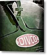 1965 Divco Milk Truck Hood Ornament Metal Print