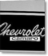 1967 Chevrolet Camaro Emblem Metal Print