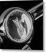 1967 Pontiac Firebird Steering Wheel Emblem Metal Print