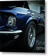 1969 Ford Mustang Mach 1 Fastback Metal Print