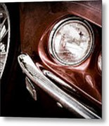 1969 Ford Mustang Mach 1 Front End Metal Print