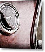 1969 Ford Mustang Mach 1 Side Emblem Metal Print
