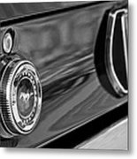1969 Ford Mustang Taillights Metal Print