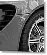 2005 Lotus Elise Wheel Emblem Metal Print