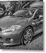2006 Mitsubishi Eclipse Gt V6 Painted Bw Metal Print