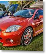 2006 Mitsubishi Eclipse Gt V6 Painted Metal Print