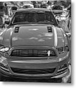 2013 Ford Mustang Gt Cs Painted Bw Metal Print