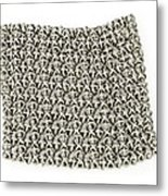 3d Printed Chain Mail Metal Print by Science Photo Library