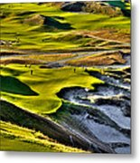 #9 At Chambers Bay Golf Course Metal Print by David Patterson