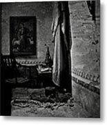 A Cell In Santa Barbara Mission Metal Print