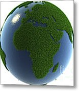 A Greener Earth Metal Print