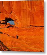 A Hole In The Rock Metal Print