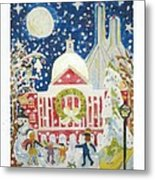 A Holiday Affair Metal Print