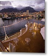 A Night View Of The Victoria And Alfred Metal Print