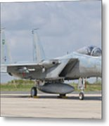 A Royal Saudi Air Force F-15c At Nancy Metal Print