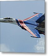 A Sukhoi Su-27 Flanker Of The Russian Metal Print