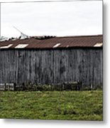Abandoned Barn Kentucky Usa Metal Print