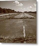 Abandoned Route 66 Metal Print