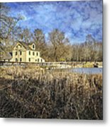 Abbott's Mill Metal Print
