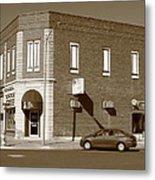 Abilene Kansas - 2nd And Broadway Metal Print