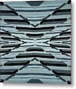 Abstract Buildings 3 Metal Print