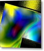 Abstract Geometric Art Metal Print by Mario Perez