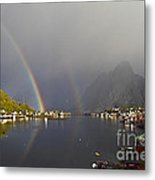 After The Rain In Reine Metal Print