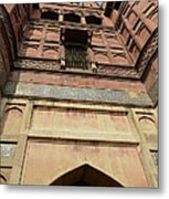 Agra Fort In India Metal Print