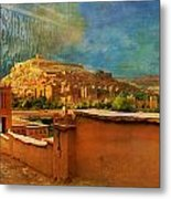 Ait Benhaddou  Metal Print by Catf