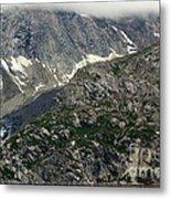 Alaska Glacier Metal Print