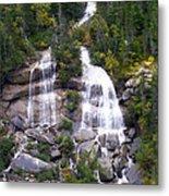 Alaskan Waterfall Metal Print