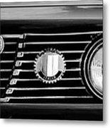 Alfa-romeo Grille Emblem Metal Print