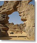 Algeria Desert Metal Print