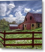 All American Metal Print by Debra and Dave Vanderlaan