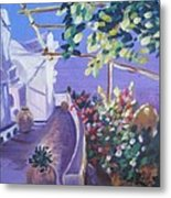 Amalfi Evening Metal Print