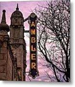 Ambler Theater Metal Print